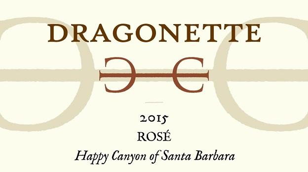 2015 Dragonette Cellars Rosé ($25) 90