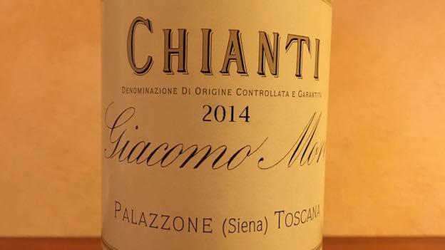 2014 Giacomo Mori Chianti ($18) 91