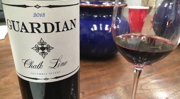 2013 Guardian Cellars Red Blend Chalk Line ($20.00) 91