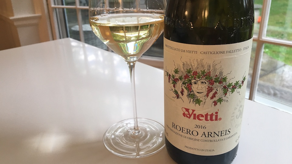 Vietti 2016 Roero Arneis ($22.00) 89