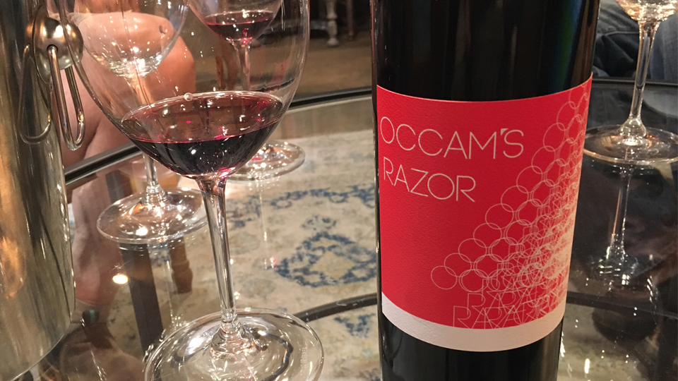 2014 Rasa Vineyards Occam's Razor ($16.00) 89