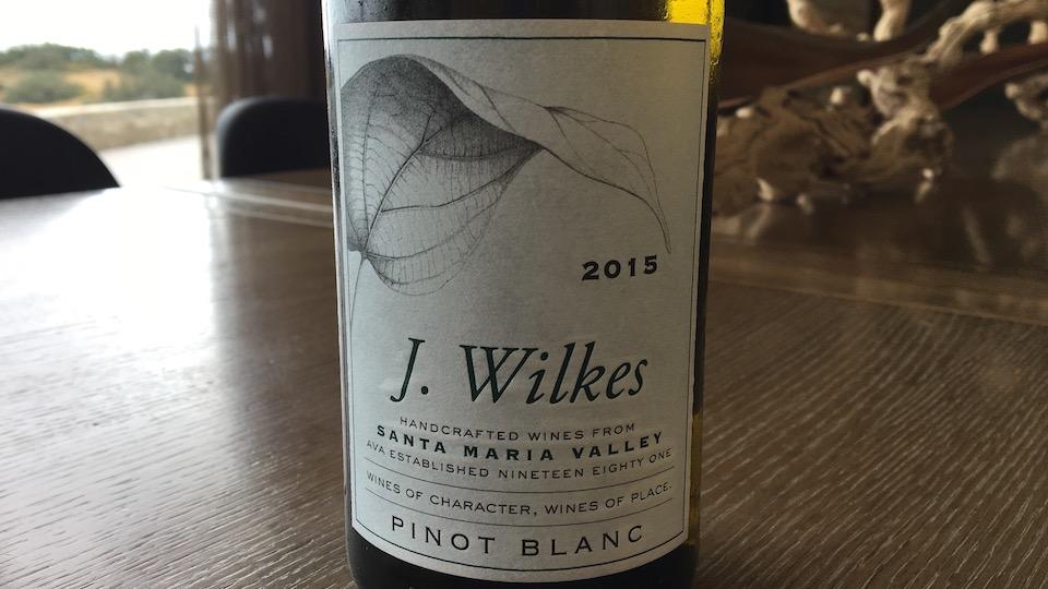 J. Wilkes 2015 Pinot Blanc ($18.00) 89