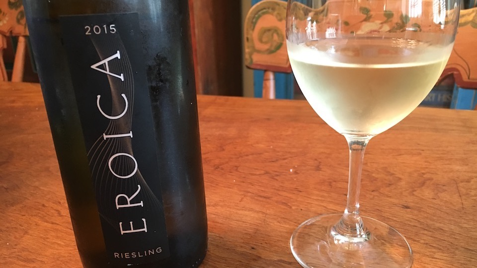 2015 Chateau Ste. Michelle Eroica Riesling (20.00) 90