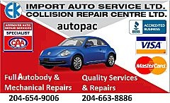 EK Import Auto Service Ltd.