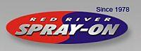 Website for Red River Spray-On Ltd.