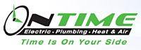 Website for On Time Electric, Plumbing, Heating & Air Conditioning
