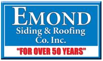 Website for Emond Siding & Roofing Co. Inc.