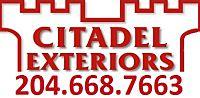 Website for Citadel Roofing Inc.