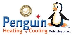 Website for Penguin Heating and Cooling Technologies Inc.