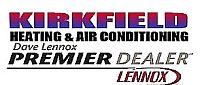 Website for Kirkfield Heating & Air Conditioning Ltd.