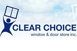 Website for Clear Choice Window and Door Store