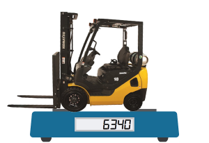 how much does a forklift weigh