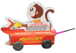 Monkey Driving Car