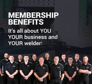 Membership Benefits: It's all about you, your business and your welder
