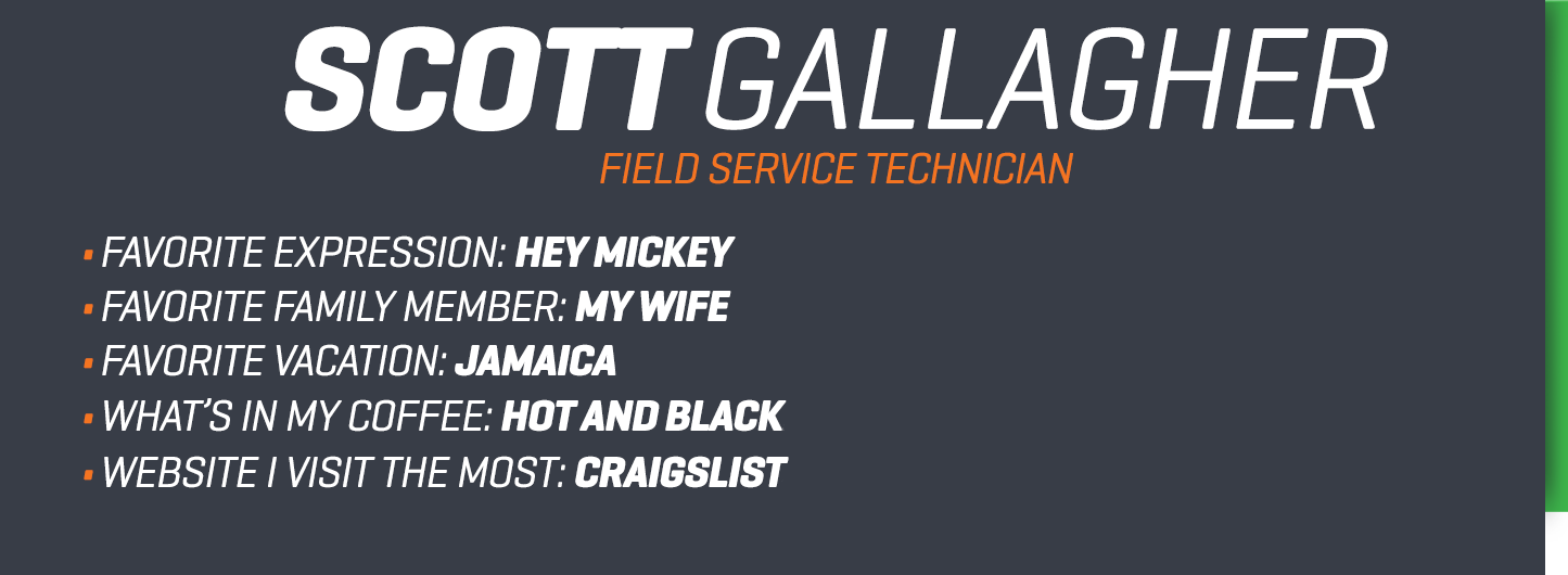 Scott Gallagher bio