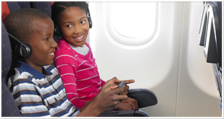Keeping our passengers entertained and comfortable
