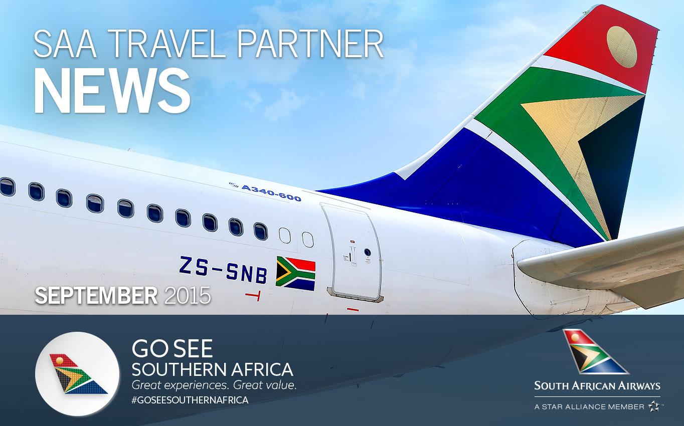SAA Travel Partner News - September 2015