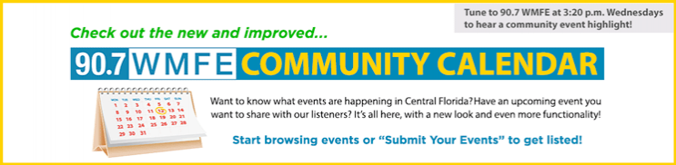 Check out the new Community Events Calendar