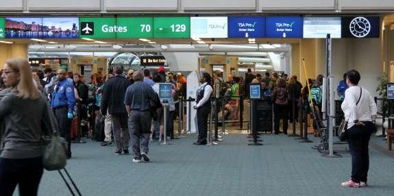 Over 35 million passengers travel through Orlando International Airport every year. Photo: Renata Sago, WMFE.
