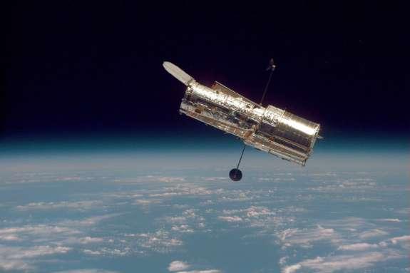 The Hubble Telescope in orbit. Photo: NASA