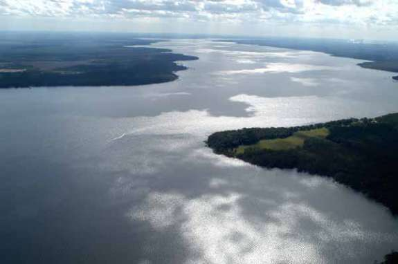 The St. Johns River. Photo courtesy the University of North Florida.
