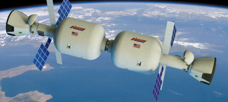 Rendering of two Bigelow modules in space. Photo: Bigelow Aerospace