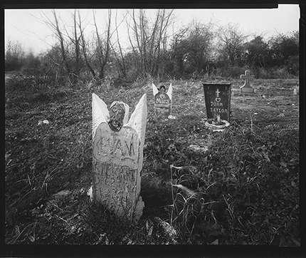 Image: Tom Rankin: Handmade gravestones, crealde.org