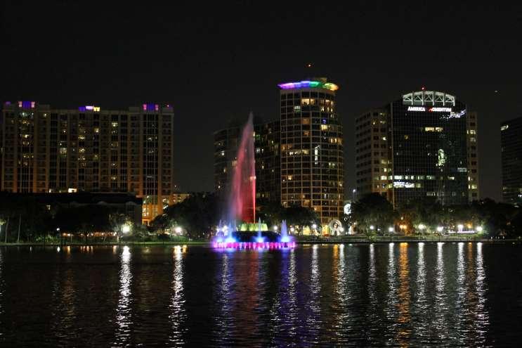 Lake Eola, Orlando. Photo: Matthew Peddie, WMFE