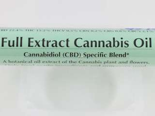 Image: Full extract cannabis oil