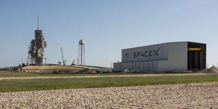 SpaceX's facility at Launch Complex 39A. Photo: NASA