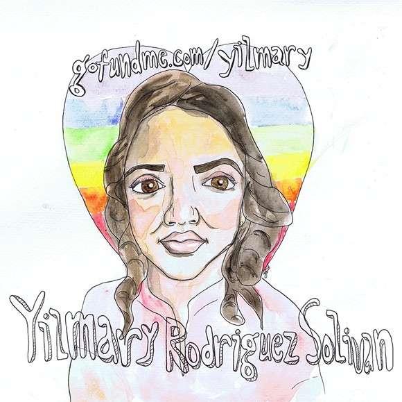 Image: Adopt Orlando portrait of Yilmary Rodriguez Solivan by Jessica Earley, orlandoweekly.com