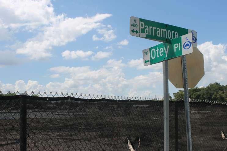 The site of Orange County's new PS-8th grade school in Parramore. Photo: Matthew Peddie, WMFE
