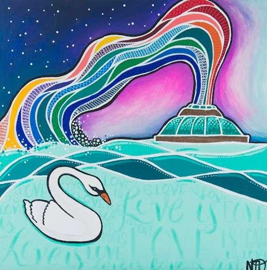 Image: Painting by Nicole Dermody via Orlando Public Library, orlandoweekly.com