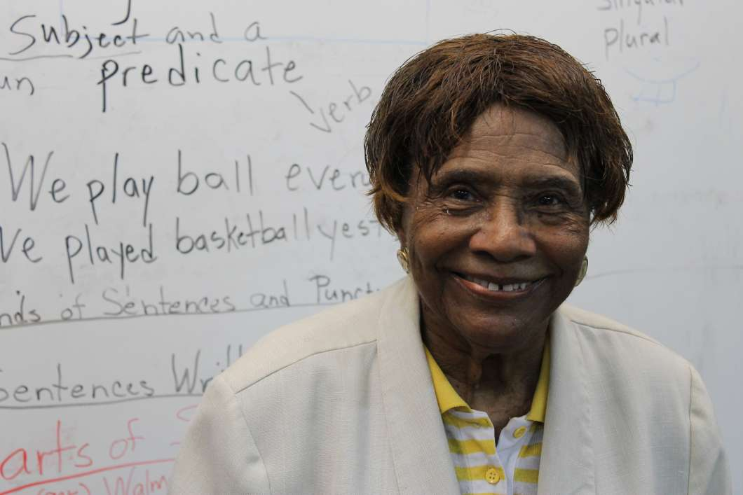 Ernestine Mosley at Hi-Tech Tutoring, Orlando. Photo: Matthew Peddie, WMFE