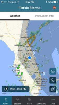 Download the Florida Storms mobile app, free for Apple or Android.
