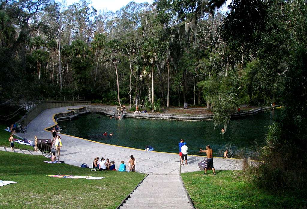 Wekiwa Springs State Park. Photo courtesy Wkimedia Commons