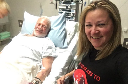 Buzz Aldrin 'recovering well' in New Zealand. Photo: Twitter