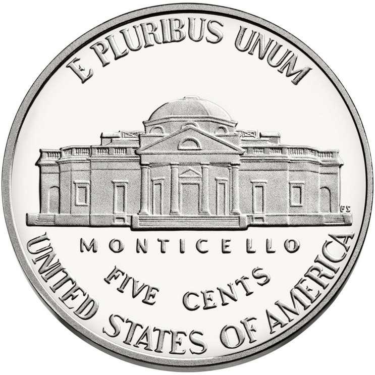 Image: US nickel reverse, wikipedia.org