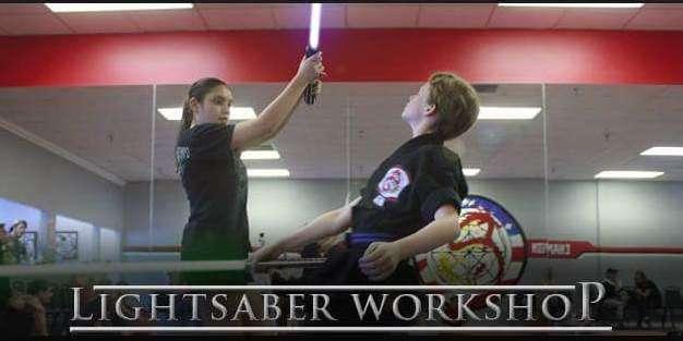 Image: Champion Karate Light Saber workshop , facebook page