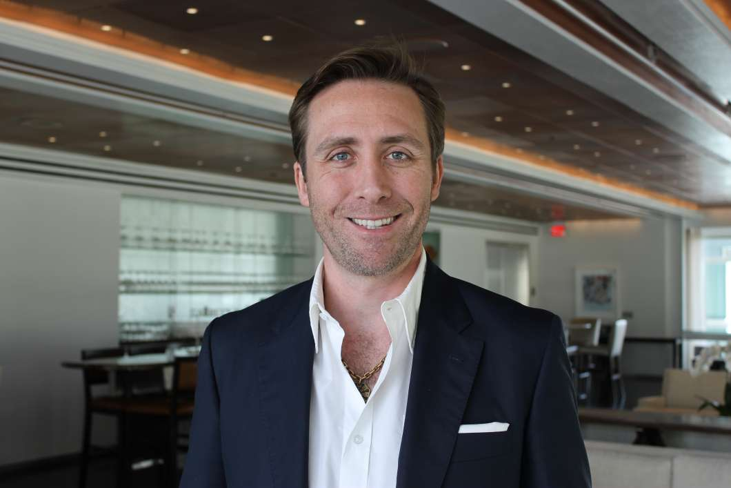 Philippe Cousteau. Photo: Matthew Peddie, WMFE