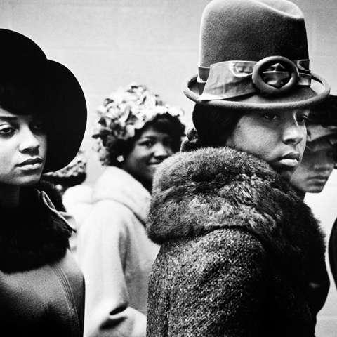 Image by Leonard Freed, Harlem Fashion Show, Harlem 1963. snaporlando.com