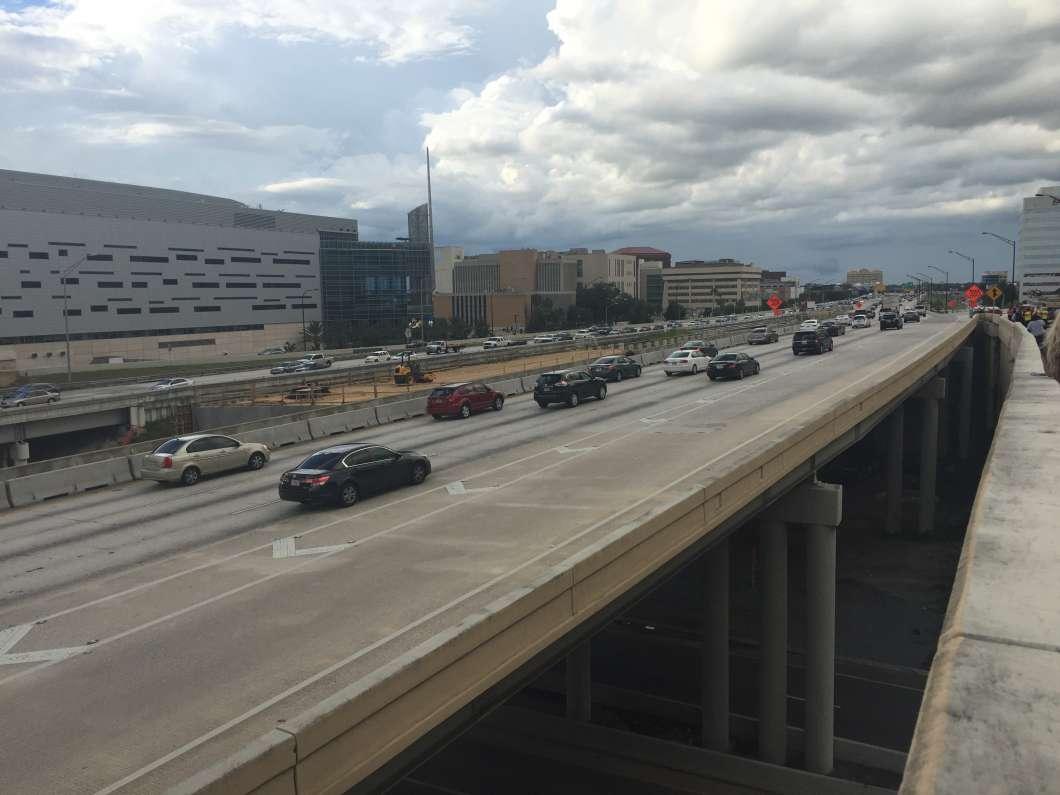 Toll lanes are coming to I-4. Photo: Abe Aboraya, WMFE