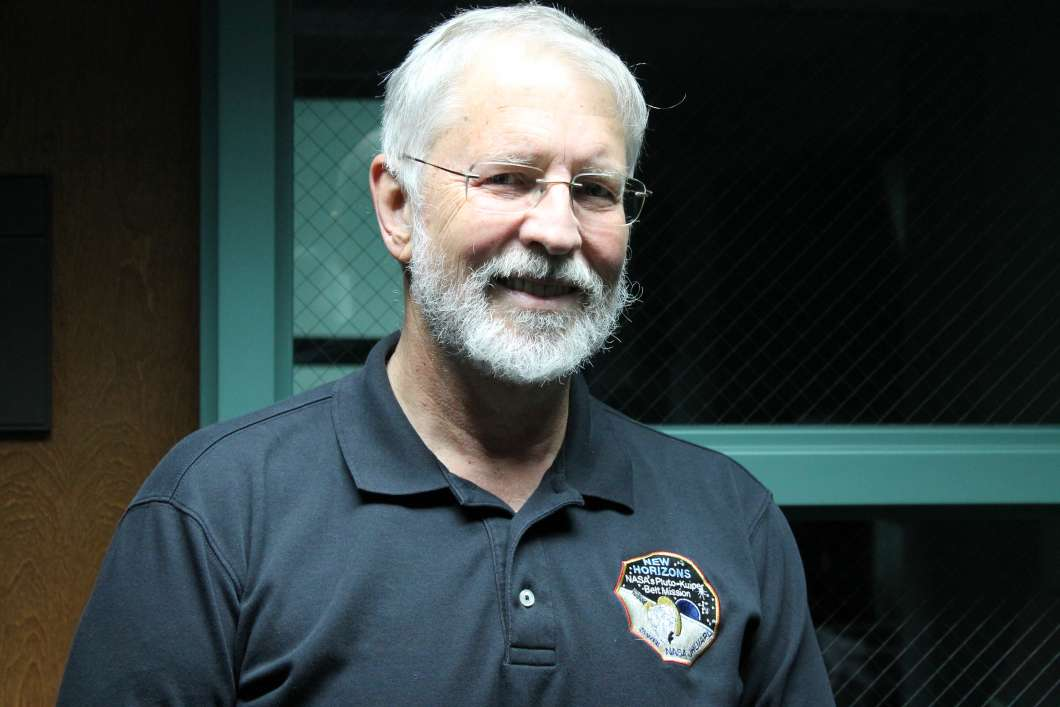 Dan Britt is part of a team that will study some of the oldest asteroids in the solar system. Photo: Matthew Peddie, WMFE