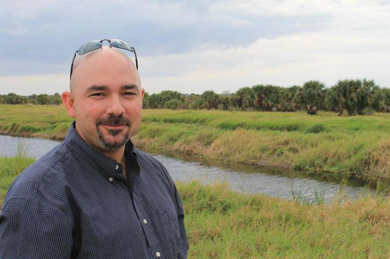 Ernie Marks of the South Florida Water Management District says more water storage is needed north of Lake Okeechobee. Photo by Amy Green