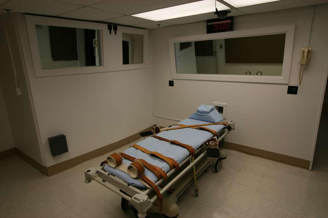 Execution chamber. Photo: Florida Department of Corrections / Doug Smith