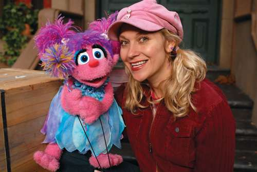 Image: Leslie Carrara-Rudolph with Abby Cadabby, wikipedia.org