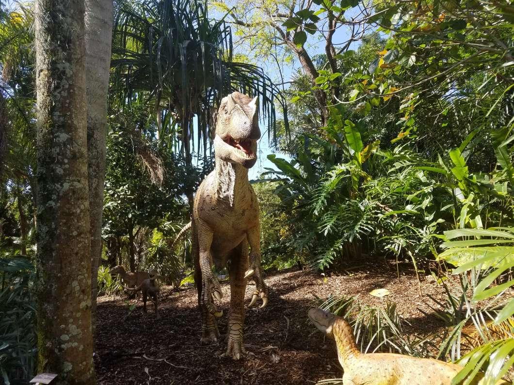 Allosaurus. Photo by Crystal Chavez