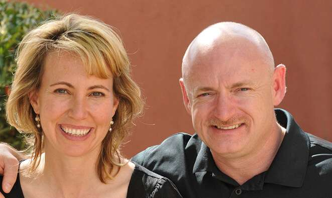 Former Congresswoman Gabrielle Giffords and Astronaut Mark Kelly. Photo: Winter Park Institute