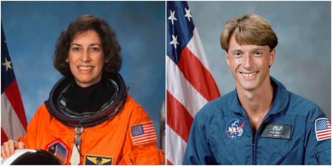 Ellen Ochoa and Michael Foale join U.S. Astronaut Hall of Fame. Photos: NASA