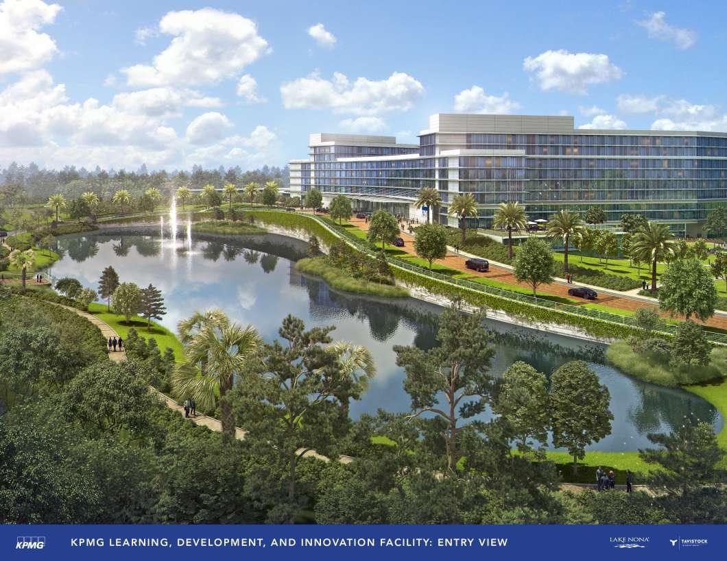 Slideshow: KPMG starts work today on a training facility the size of Buckingham Palace in Orlando.